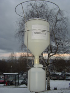 Precipitation collector